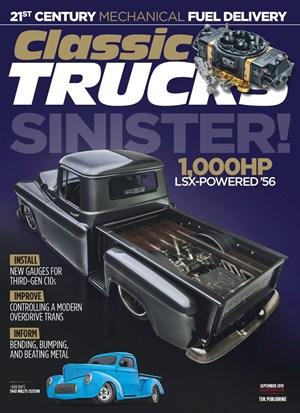 Classic Trucks Magazine   9/2019 Cover