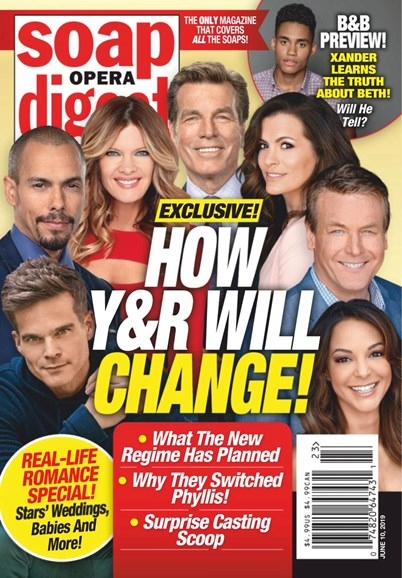 Soap Opera Digest Cover - 6/10/2019