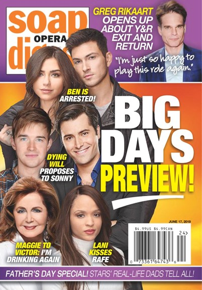 Soap Opera Digest Cover - 6/17/2019