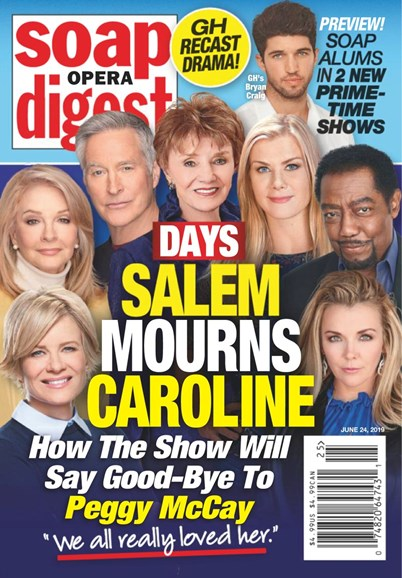 Soap Opera Digest Cover - 6/24/2019