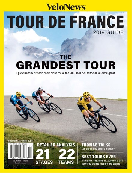 VeloNews Cover - 7/1/2019