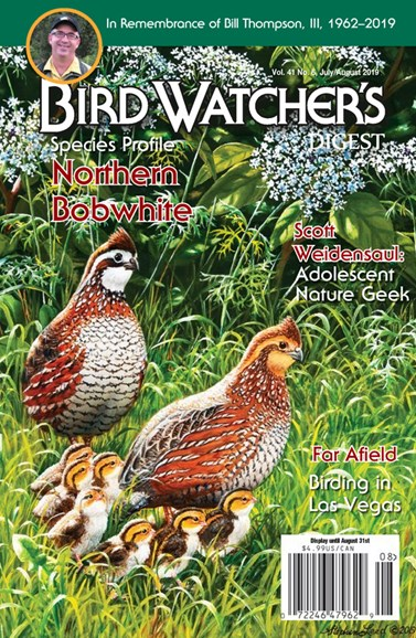 Bird Watcher's Digest Cover - 7/1/2019