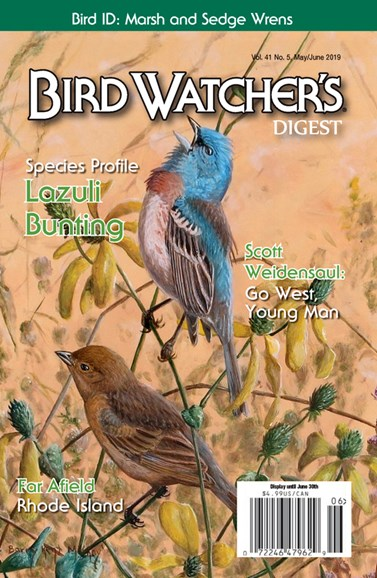 Bird Watcher's Digest Cover - 5/1/2019