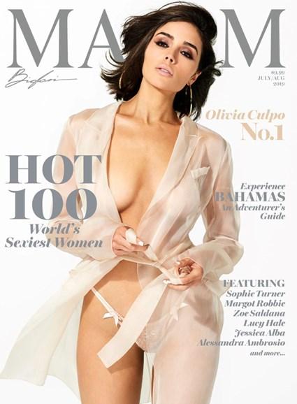 Maxim Cover - 7/1/2019