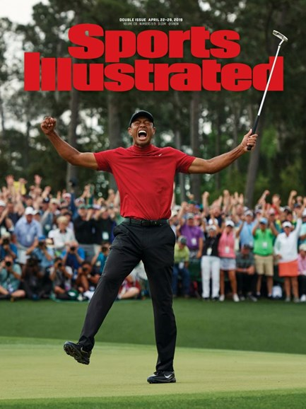 Sports Illustrated Cover - 4/22/2019