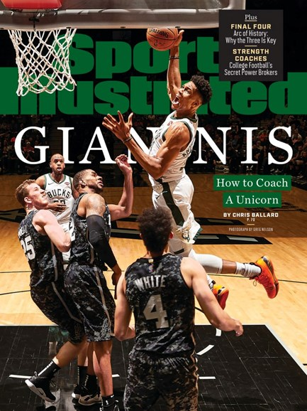 Sports Illustrated Cover - 4/8/2019