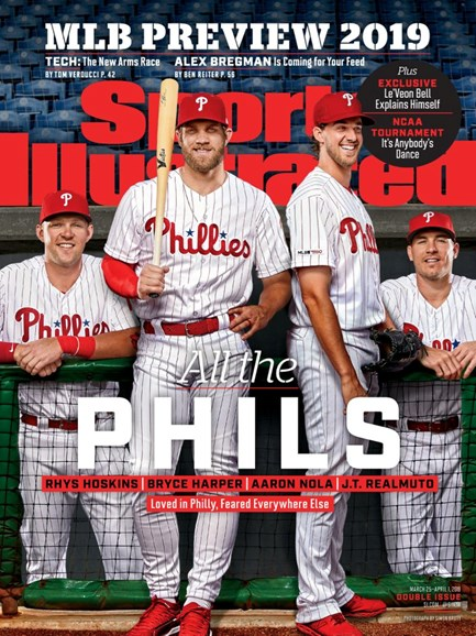 Sports Illustrated Cover - 3/25/2019