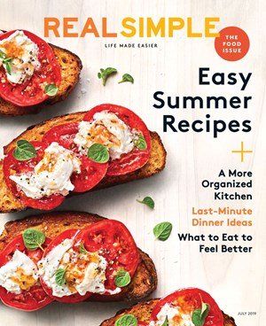 Real Simple Magazine | 7/1/2019 Cover