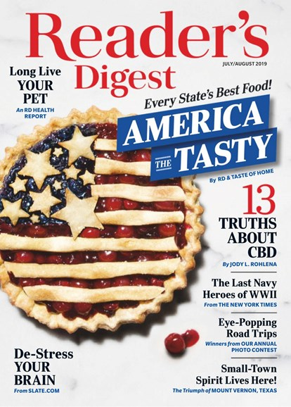 Reader's Digest Cover - 7/1/2019
