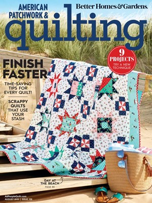 American Patchwork & Quilting Magazine | 8/1/2019 Cover