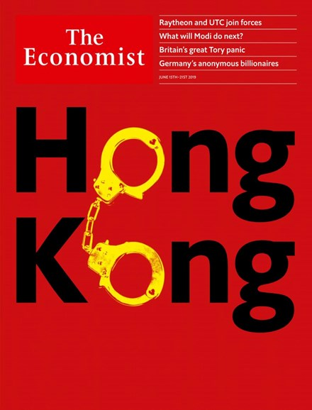 The Economist Cover - 6/15/2019