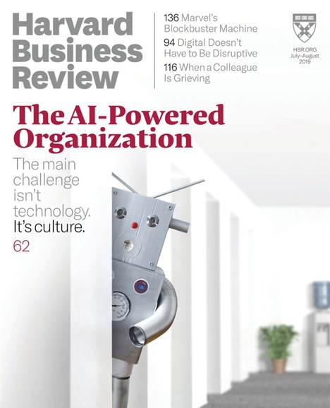 Harvard Business Review Cover - 7/1/2019