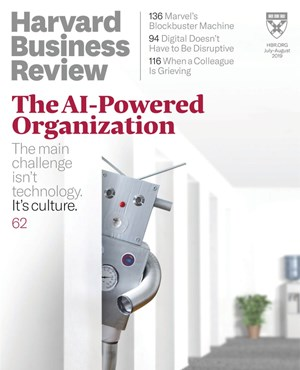 Harvard Business Review Magazine | 7/1/2019 Cover