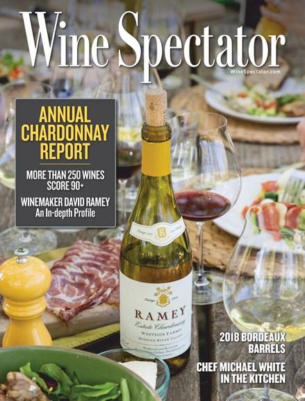Wine Spectator Cover - 7/31/2019