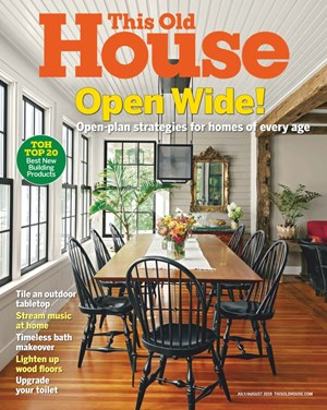 This Old House Magazine | 7/1/2019 Cover