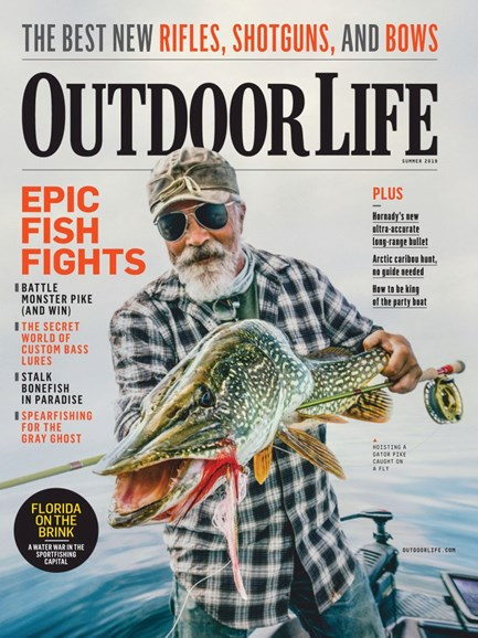 Outdoor Life Cover - 6/1/2019
