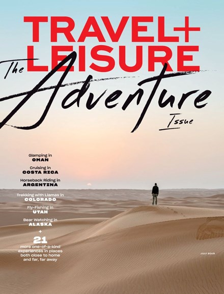 Travel + Leisure Cover - 7/1/2019