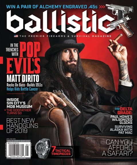 Ballistic Cover - 4/1/2019