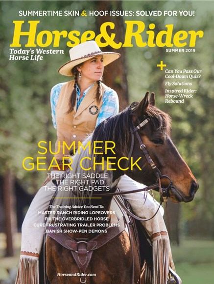 Horse & Rider Cover - 6/1/2019