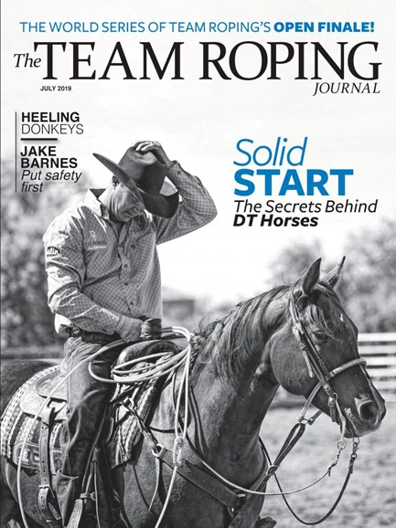 The Team Roping Journal Cover - 7/1/2019