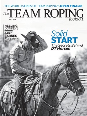 The Team Roping Journal | 7/2019 Cover