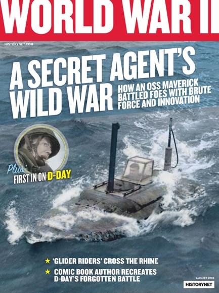 World War II Cover - 8/1/2019