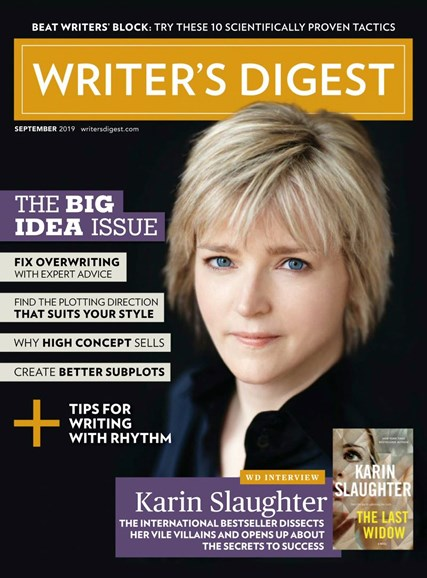 Writer's Digest Cover - 9/1/2019