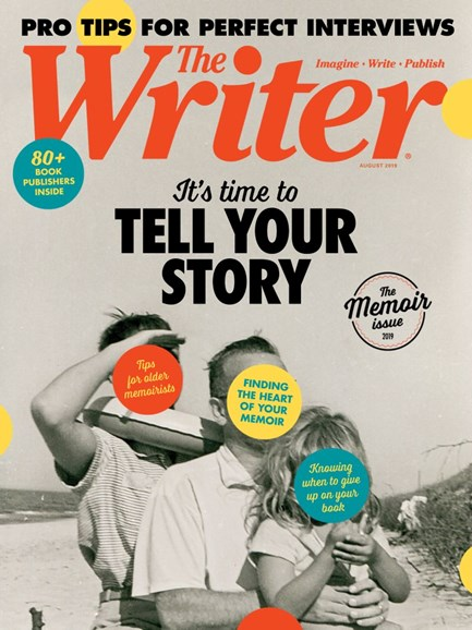 The Writer Cover - 8/1/2019