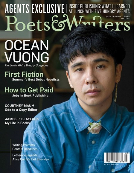 Poets & Writers Cover - 7/1/2019