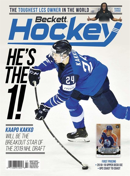 Beckett Hockey Cover - 7/1/2019