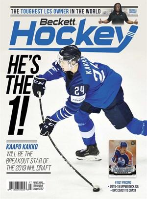 Beckett Hockey Magazine | 7/2019 Cover