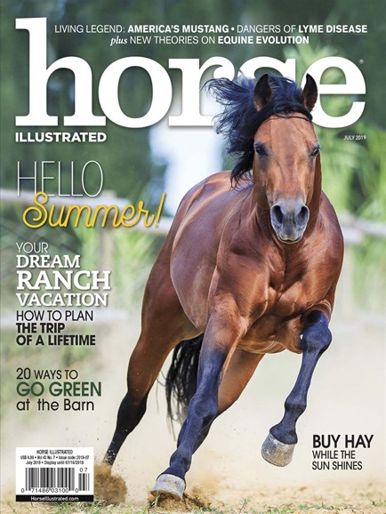 Horse Illustrated Cover - 7/1/2019