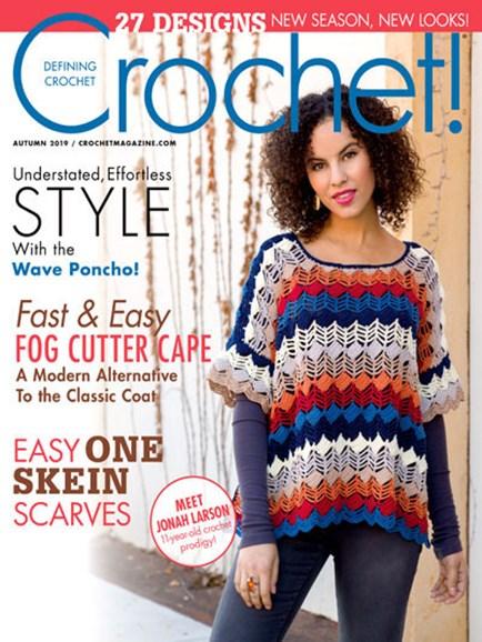 Crochet! Cover - 9/1/2019
