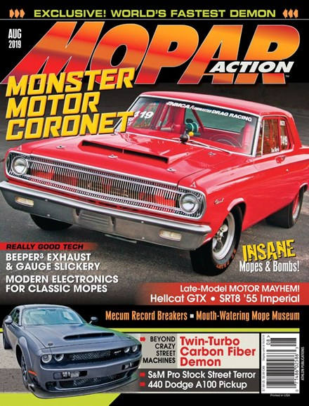 Mopar Action Cover - 8/1/2019