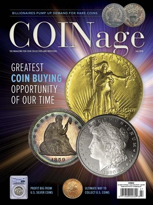 Coinage Magazine | 7/2019 Cover