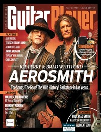 Guitar Player | 7/2019 Cover