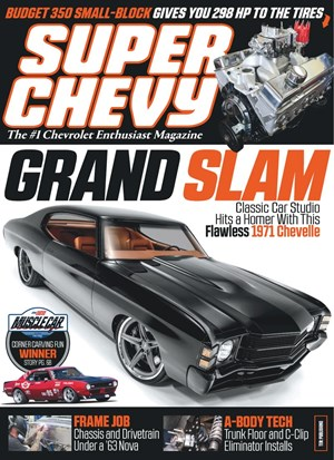 Super Chevy Magazine | 8/2019 Cover