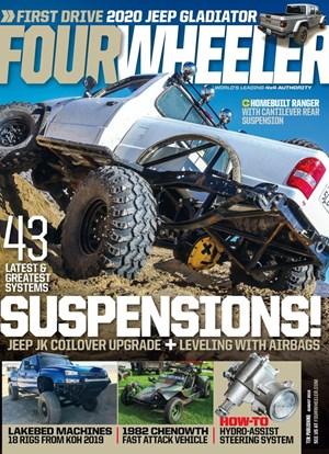 Four Wheeler Magazine   8/2019 Cover