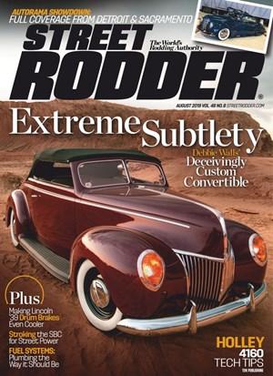 Street Rodder Magazine | 8/2019 Cover
