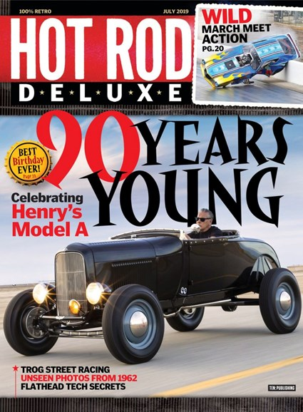Hot Rod Deluxe Cover - 7/1/2019