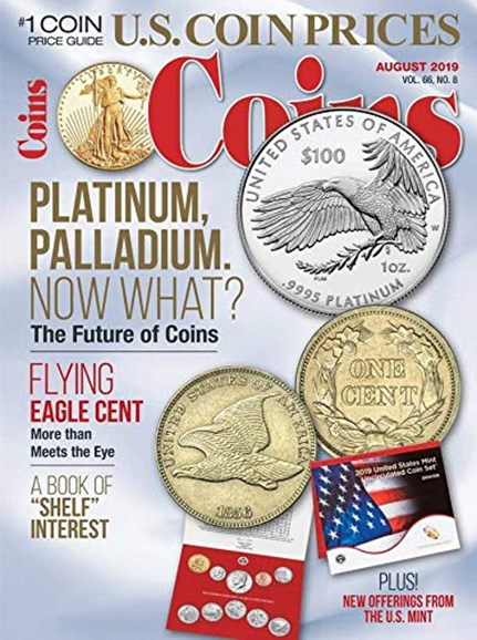 Coins Cover - 8/1/2019
