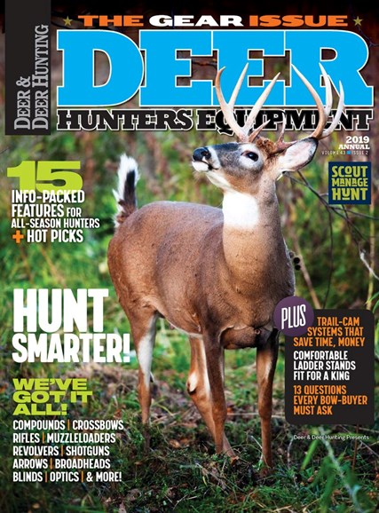 Deer & Deer Hunting Cover - 8/1/2019