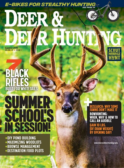 Deer & Deer Hunting Cover - 7/1/2019