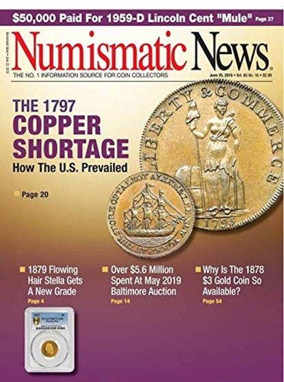 Numismatic News Magazine | 6/25/2019 Cover