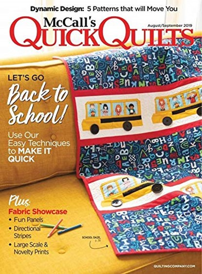 Quick Quilts Magazine | 8/2019 Cover