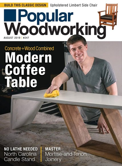 Popular Woodworking Cover - 8/1/2019