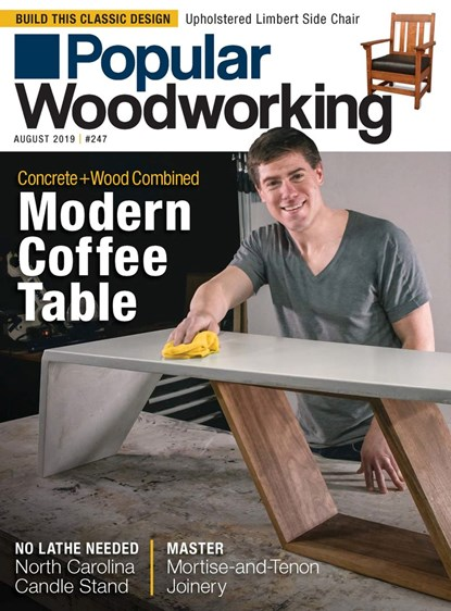 Popular Woodworking Magazine | 8/2019 Cover