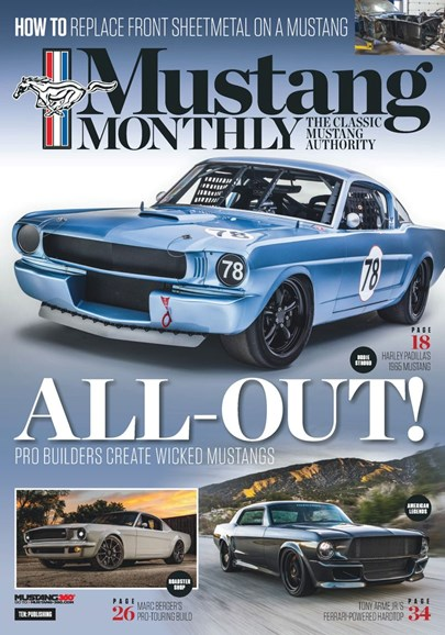 Mustang Monthly Cover - 7/1/2019