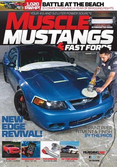 Muscle Mustangs & Fast Fords Cover - 8/1/2019