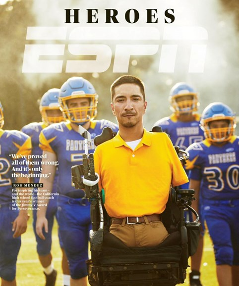 ESPN The Magazine Cover - 7/1/2019